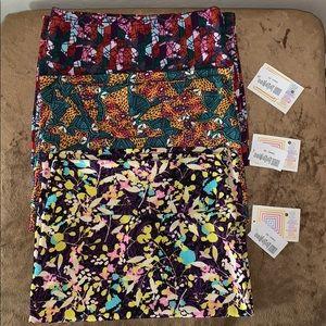 Bundle of 3 New LulaRoe skirts